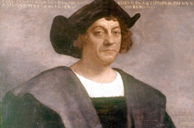 Retrato de Cristobal Colon  Christopher Columbus by Sebastian Del Piombo